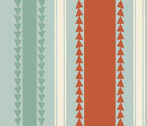Racing Angles Stripes fabric by cbl on Spoonflower - custom fabric