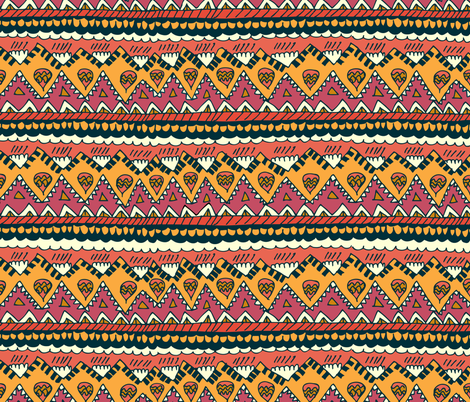 Desert Blanket fabric by joyfulroots on Spoonflower - custom fabric