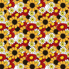 Poppy_sunflower