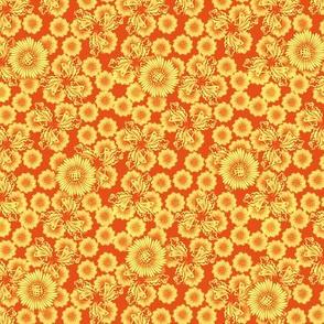 floral_paper_-_golden
