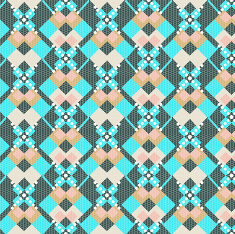 Native Notes fabric by gimlet on Spoonflower - custom fabric