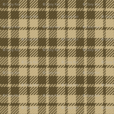 Palaka Beehive Tan plaid