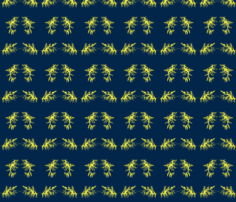 two-tone seadragons frolic fabric by starlings_law on Spoonflower - custom fabric