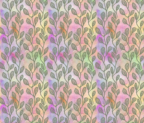 Rleaves_continuous_pattern_petals_green_shop_preview