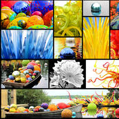 Chihuly Collage