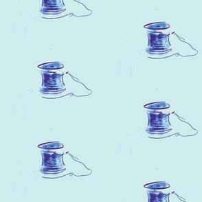 Bobbin - blue