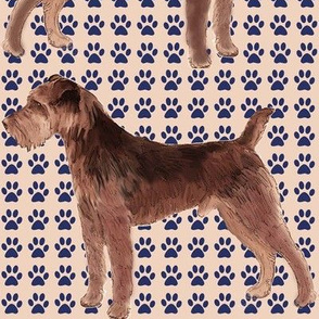 Welsh Terrier fabric
