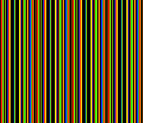 Electric Stripes fabric by whimzwhirled on Spoonflower - custom fabric