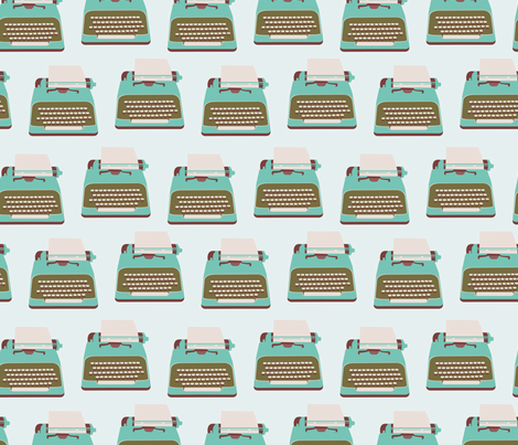 Type Fabric fabric by rachelgresham on Spoonflower - custom fabric