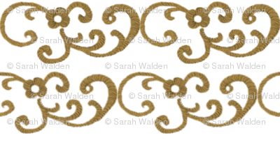 Gold Scrollwork