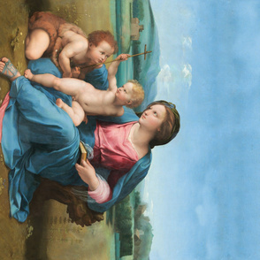 Seamless: Raphael - The Alba Madonna