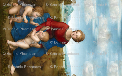 Seamless: Raphael - Madonna in the Meadow