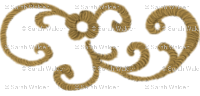 Gold Scrollwork II