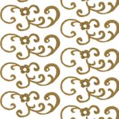 Gold Scrollwork II