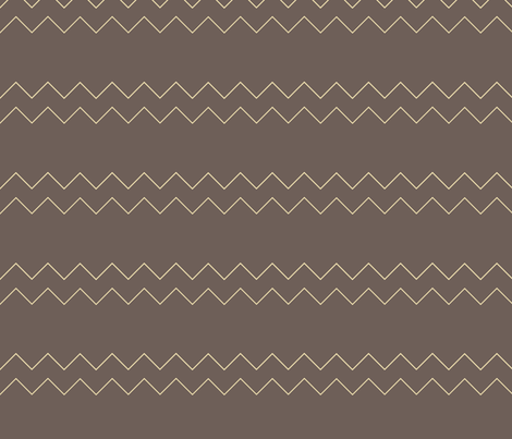 Large Grey Chevron fabric by emilyfaulkner on Spoonflower - custom fabric