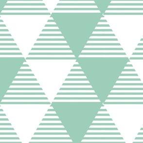 stripey triangles