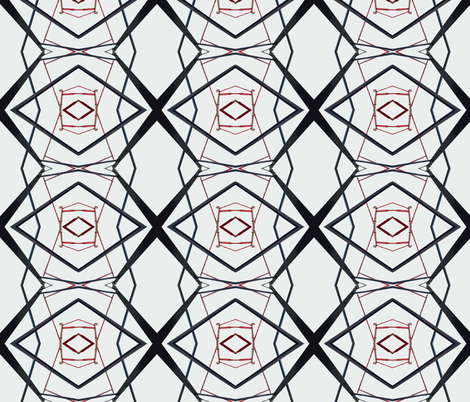 Geomatters 2 fabric by susaninparis on Spoonflower - custom fabric