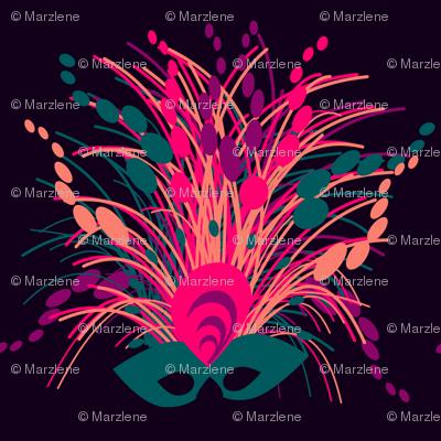 Mardi gras mask, marzlene_beauty_2543