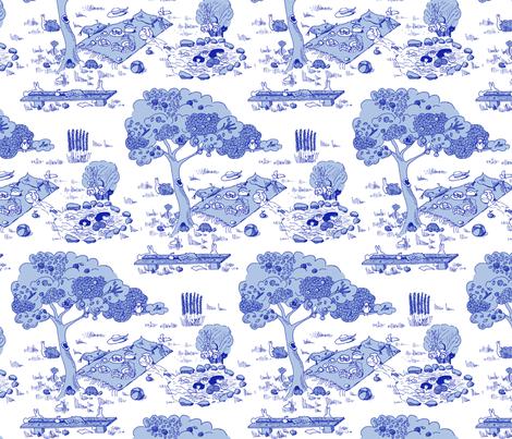 A fishy mystery fabric by domoshar on Spoonflower - custom fabric