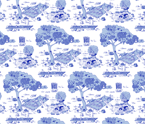 A fishy mystery fabric by domoshar on Spoonflower - custom fabric