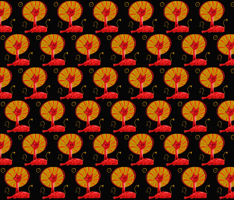 Leo fabric by emanuelletomato on Spoonflower - custom fabric