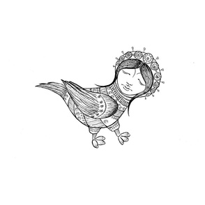 Fairytale Birdlady