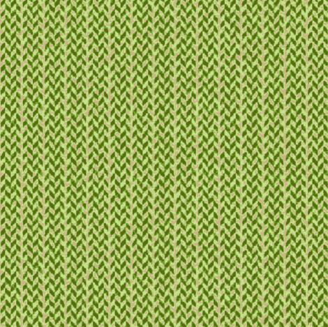 Burlap Palaka plaid green fabric by waiomaotiki on Spoonflower - custom fabric