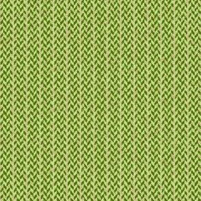 Burlap Palaka plaid green