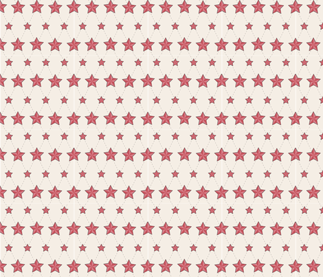 Nautical Stars fabric by zenith123 on Spoonflower - custom fabric