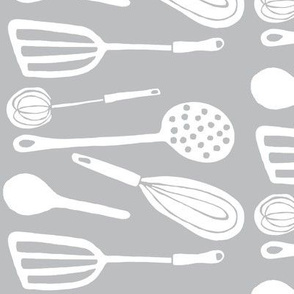 Magic Kitchen Tools (driftwood grey &amp; white)