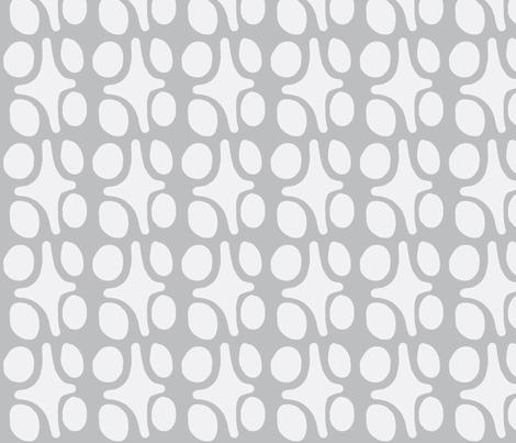 Wacky Moroccan (driftwood grey) fabric by pattyryboltdesigns on Spoonflower - custom fabric