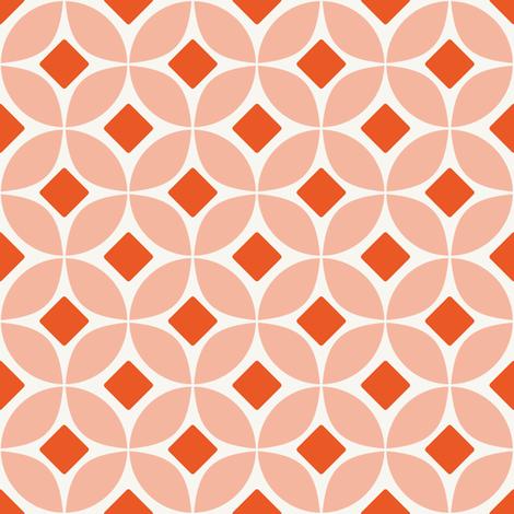 Persimmon fabric by brainsarepretty on Spoonflower - custom fabric