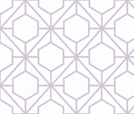Pretty Web Wisteria fabric by honey&fitz on Spoonflower - custom fabric