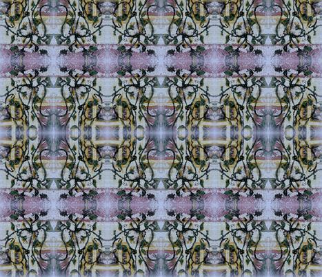 ARTBYLESchintzvinelite fabric by artbyles on Spoonflower - custom fabric