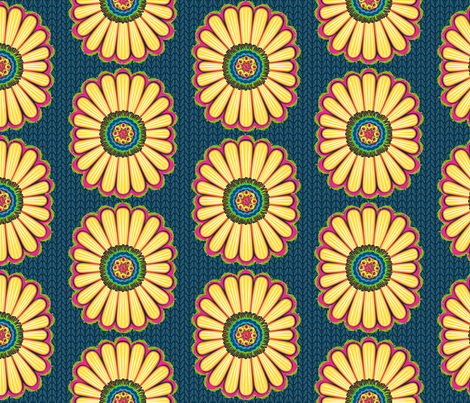 Believe_main_navy fabric by mindsthatcreate on Spoonflower - custom fabric