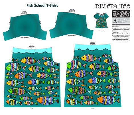 Rfish_school_t_shirt_pattern_on_a_yard_shop_preview