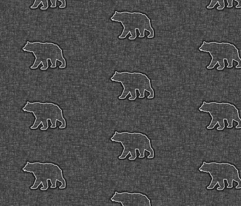 Big Bears fabric by thecalvarium on Spoonflower - custom fabric