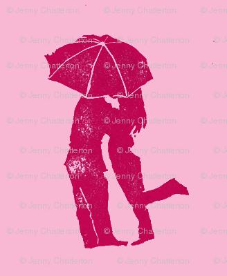 Stealing a Kiss-pink