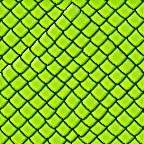Green  Snake Skin Scales fabric by yomarie on Spoonflower - custom fabric