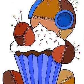 Voodoo-Cupcake