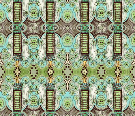 Belle Epoque fabric by janet_antepara on Spoonflower - custom fabric