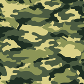 Camouflage commando army forest seamless pattern
