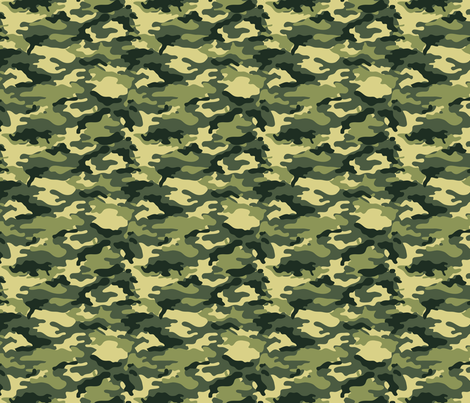 Camouflage commando army forest seamless pattern fabric by jamesdean on Spoonflower - custom fabric