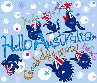 Hello-Australia-oz-animals