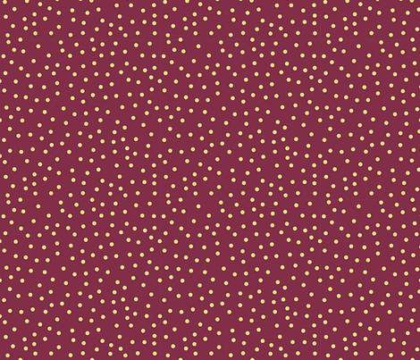 Maroon Polka Dots fabric by donnamarie on Spoonflower - custom fabric