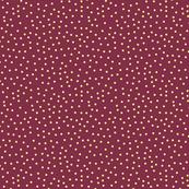 Maroon Polka Dots