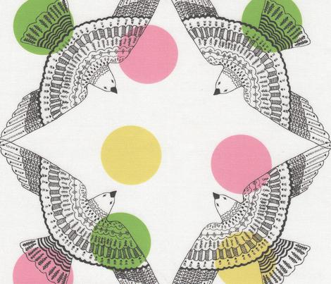 birds - circle