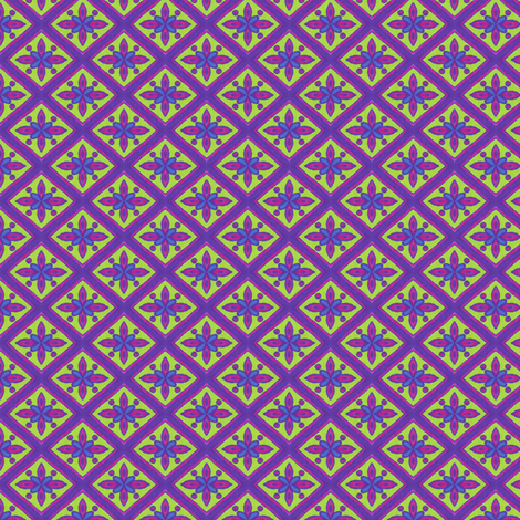 Neon Jenny Diamonds fabric by siya on Spoonflower - custom fabric