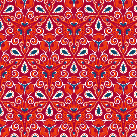 Vaballathus Triate fabric by siya on Spoonflower - custom fabric