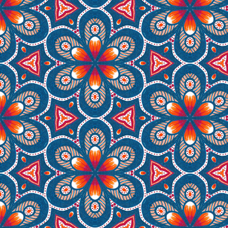 Vaballathus Flowers fabric by siya on Spoonflower - custom fabric